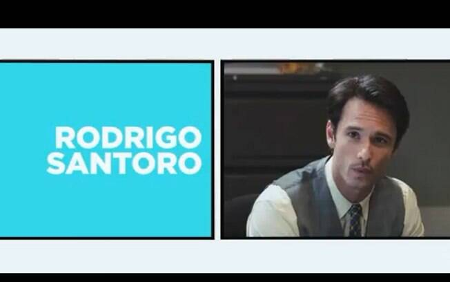 "Rodrigo Santoro no trailer do filme ""What to Expect When You're Expecting"""