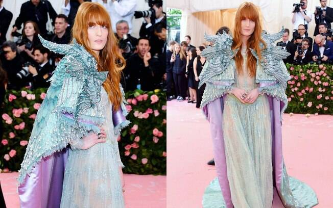 Florence Welch no Met Gala 2019