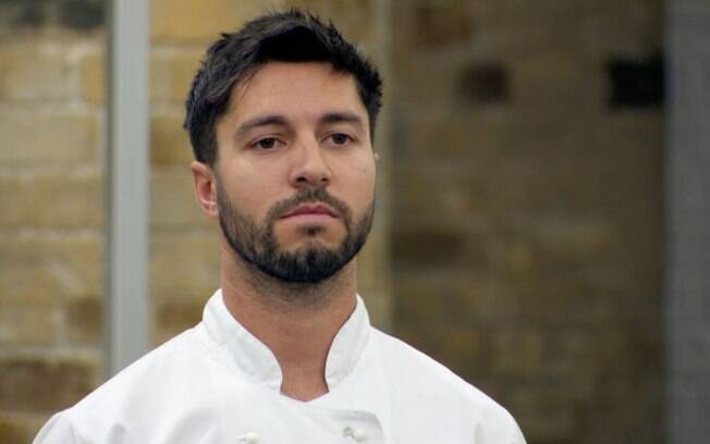 Matt Campbell, finalista do programa Masterchef do Reino Unido