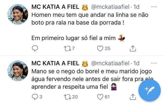 Tweets de MC Katia