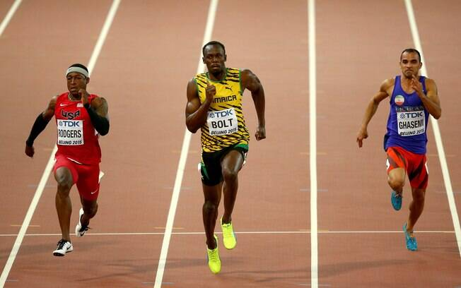 Bolt descalerou no final, como de costume em eliminatórias