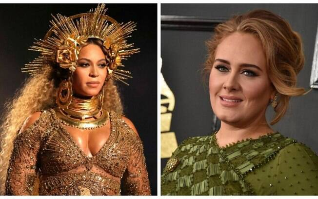 Beyonce e Adele disputaram na categoria Álbum do ano no Grammy 2017