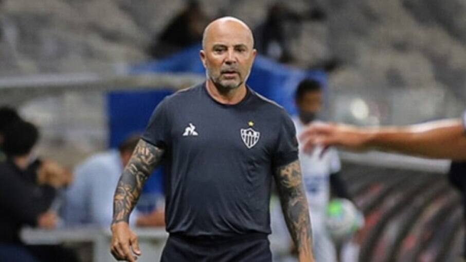 Sampaoli, técnico do Atlético-MG