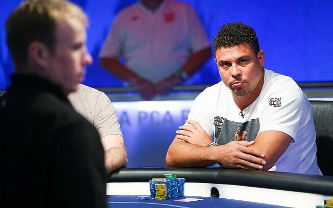 Ronaldo no PokerStars Caribbean Adventure 2015