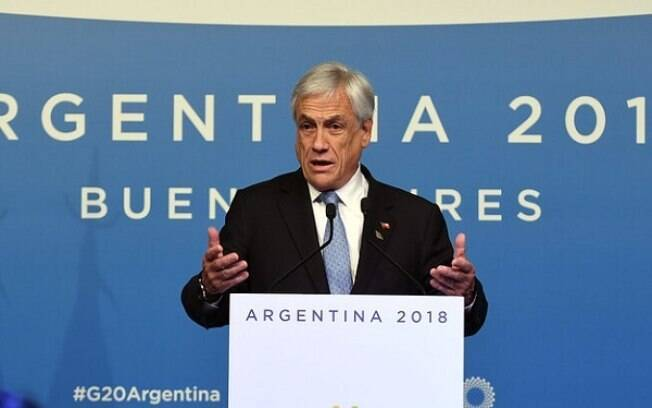 Sebástian Piñera, presidente do Chile