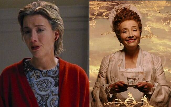 Emma Thompson participou do live-action de