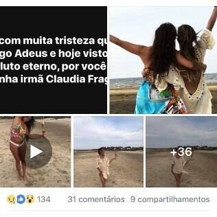 Luanda Fraga no FB