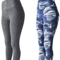 KIT 2 Leggings Fitness