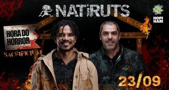 Natiruts faz show exclusivo no Hopi Hari