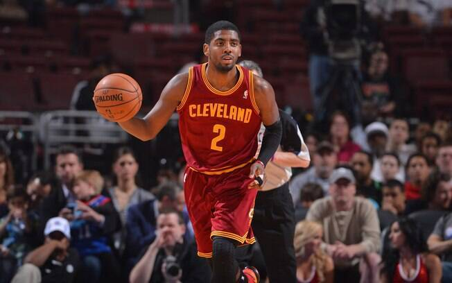 Kyrie Irving: armador do Cleveland Cavaliers disputou o último 'All-Star Game'