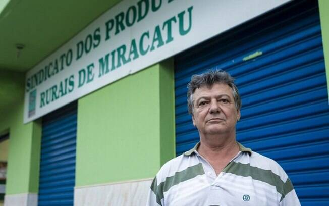 Tico Bala, presidente do Sindicato Rural de Miracatu