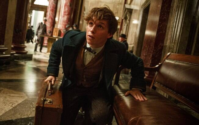 Eddie Redmayne interpretará Newt Scamander, personagem principal do filme