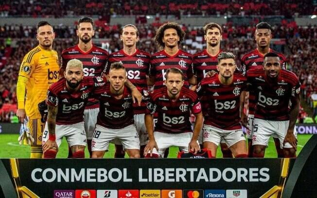 Time titular do Flamengo