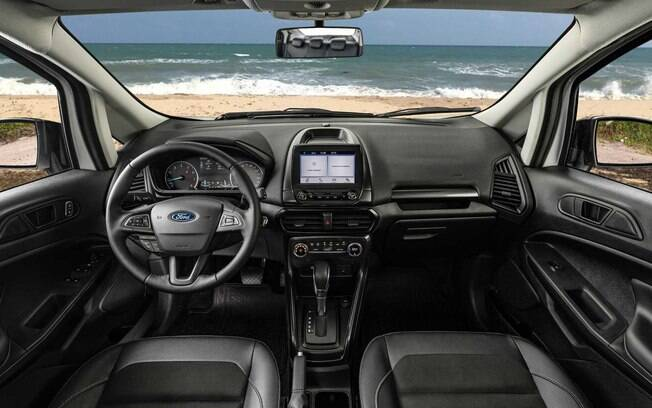 interior do Ford EcoSport FreeStyle