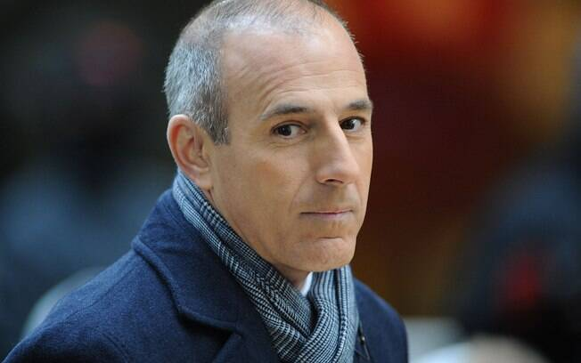 O jornalista e apresentador do programa 'The Today Show', da NBC, Matt Lauer