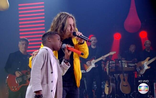 Jeremias e Vitor Kley no The Voice Kids
