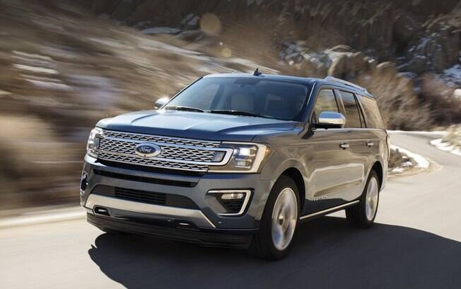 Ford Expedition: um dos exemplos da vasta gama de SUVs que a marca disponibiliza na América do Norte