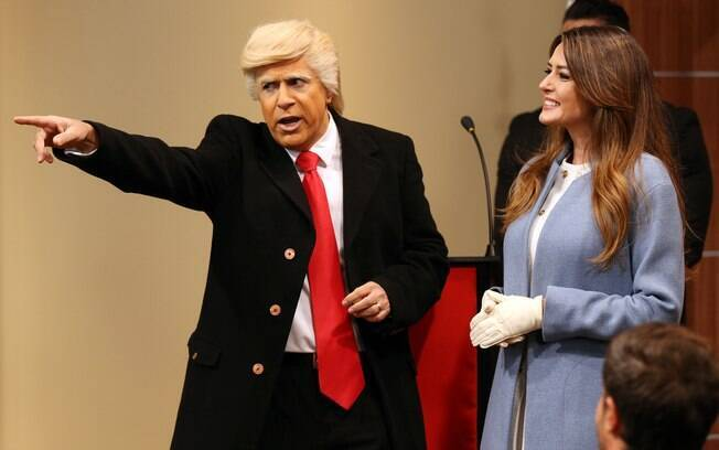 Tom Cavalcante como Donald Trump