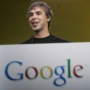 Larry Page, presidente do Google