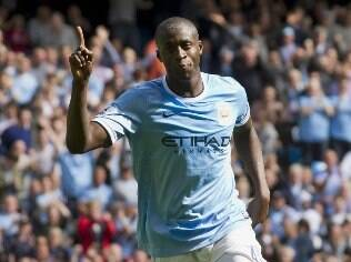 Yaya Touré, volante do Manchester City