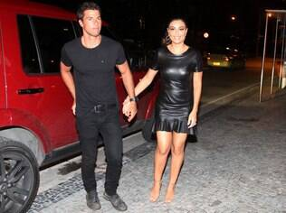 Juliana Paes and her husband Carlos Eduardo Baptista