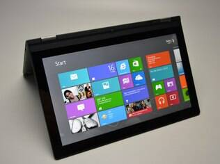 IdeaPad Yoga roda o Windows 8