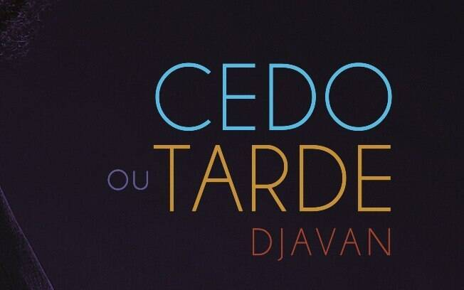 Capa do novo single de Djavan