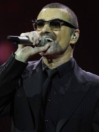 O cantor pop George Michael