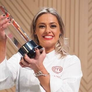Maria Antonia foi consagrada a campeã do Masterchef