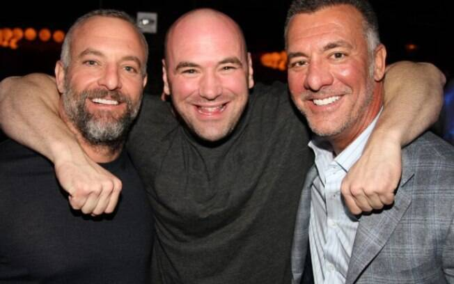 Dana White e os irmãos Fertitta , donos do UFC