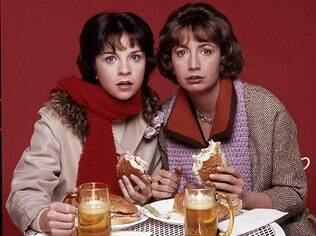 Penny Marshall e Cindy Williams juntas na série