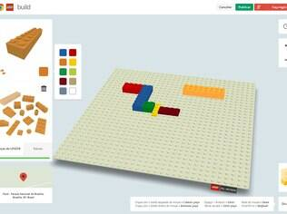 Google lançou um site especial com o Grupo LEGO chamado Build With Chrome