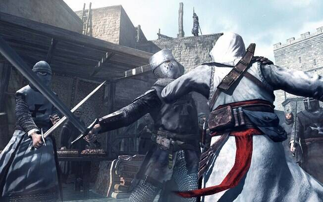 Cenas de combate em Assassin's Creed