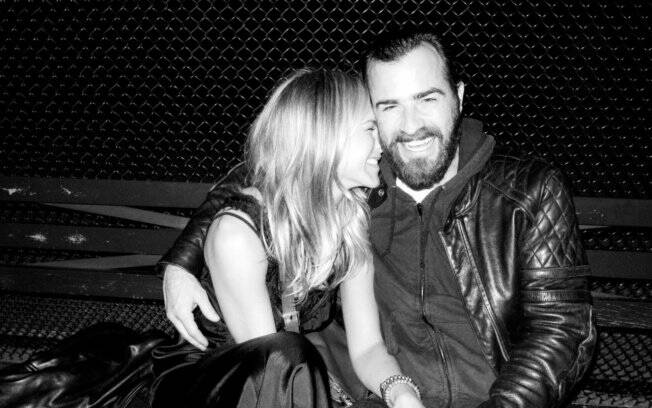 Jennifer Aniston e Justin Theroux no club Thompson Street, pelas lentes do amigo Terry Richardson