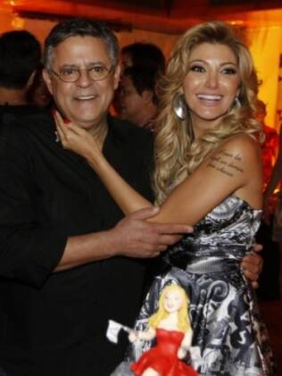 Marcos Paulo com a mulher, Antônia Fontenelle