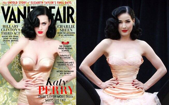 Katy Perry na capa da